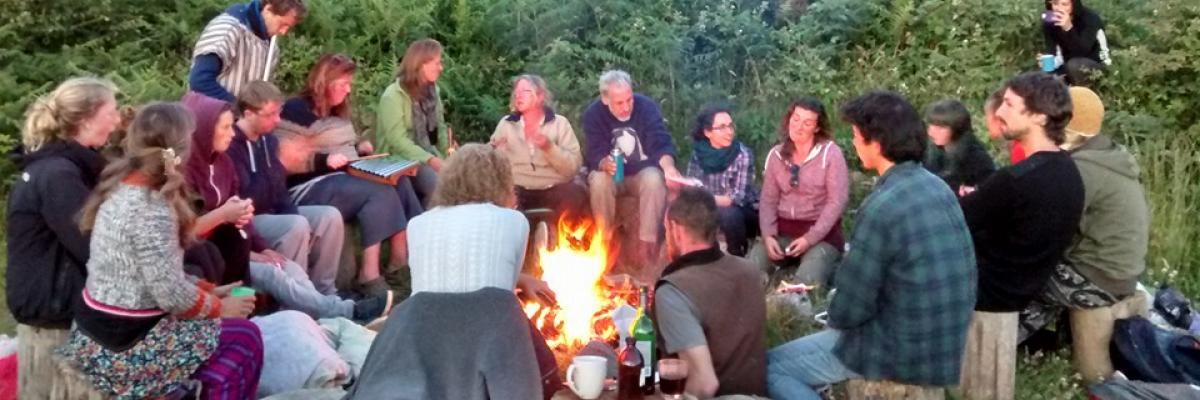 Carraig Dulra Campfire